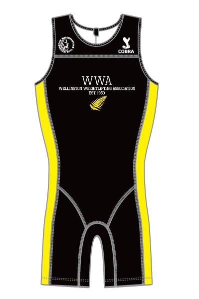Wellington Weightlifting Association Suit - NZ