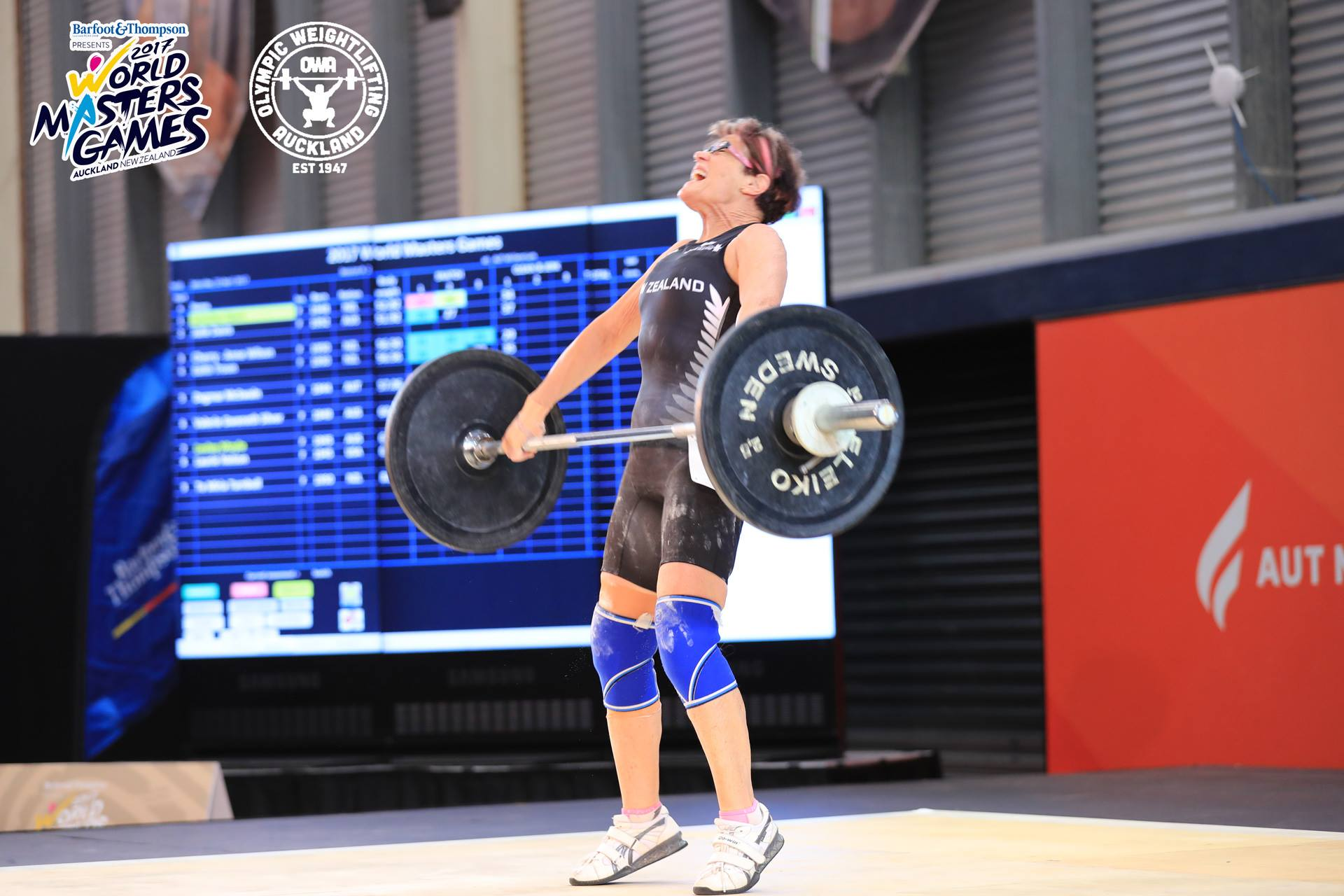 New Zealand Olympic Weightlifting Suit