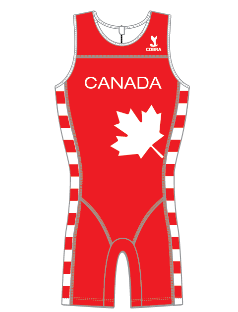 Canada Concept Olympic Weightlifting Singlet