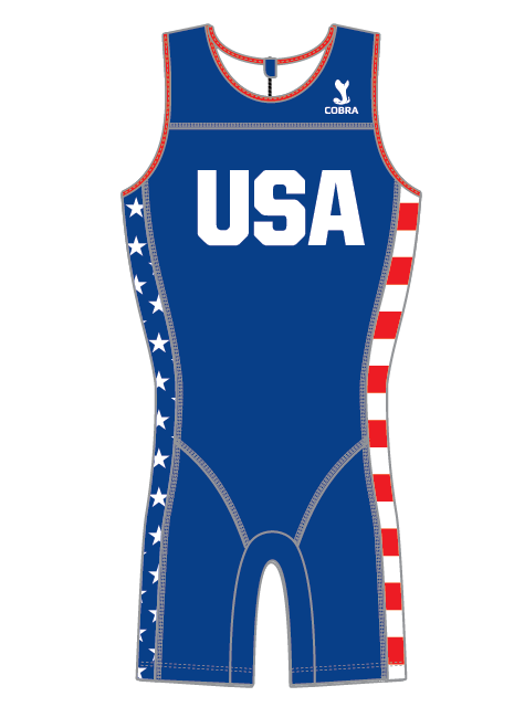 USA Concept Olympic Weightlifting Singlet