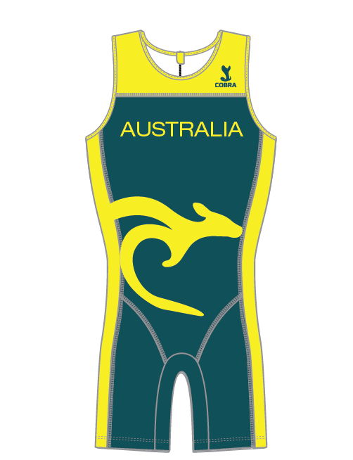 Australia Concept Custom Olympic Weightlifting Suit