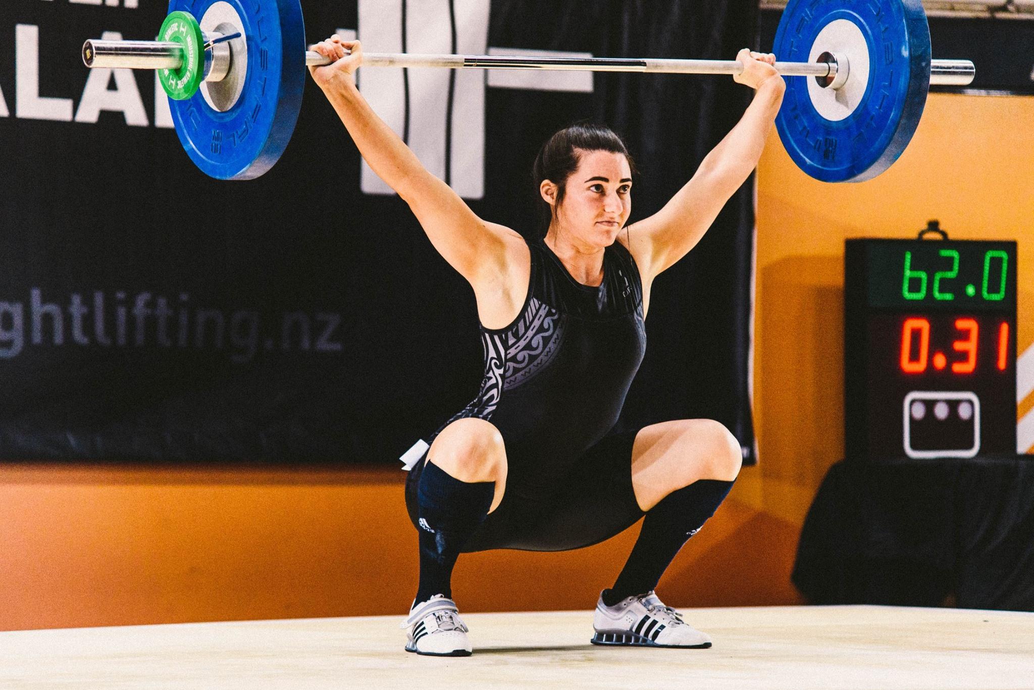Custom Olympic Weightlifting Singlet