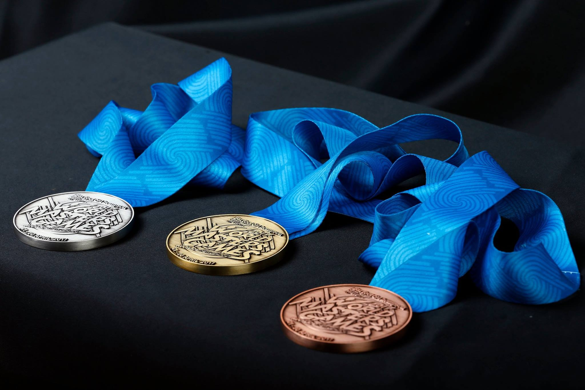 World Masters Games 2017 medals