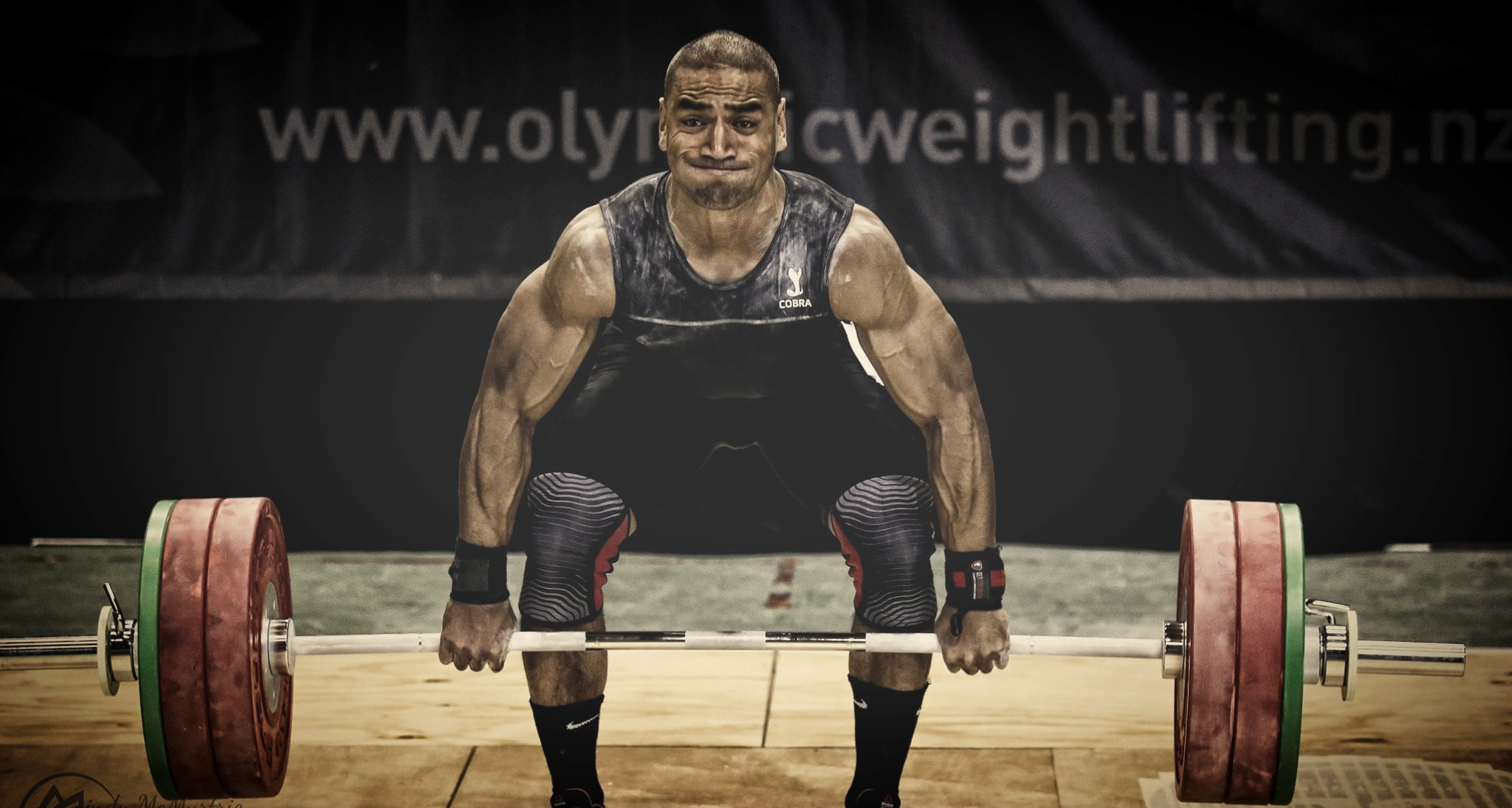 Black Olympic Weightlifting Suit