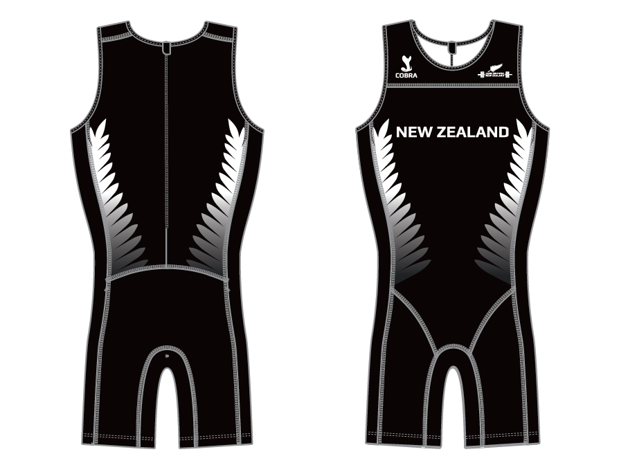 New Zealand National Custom Olympic Weightlifting Suit