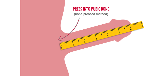 They forgot step one of measuring your penis: Remove your scrotum