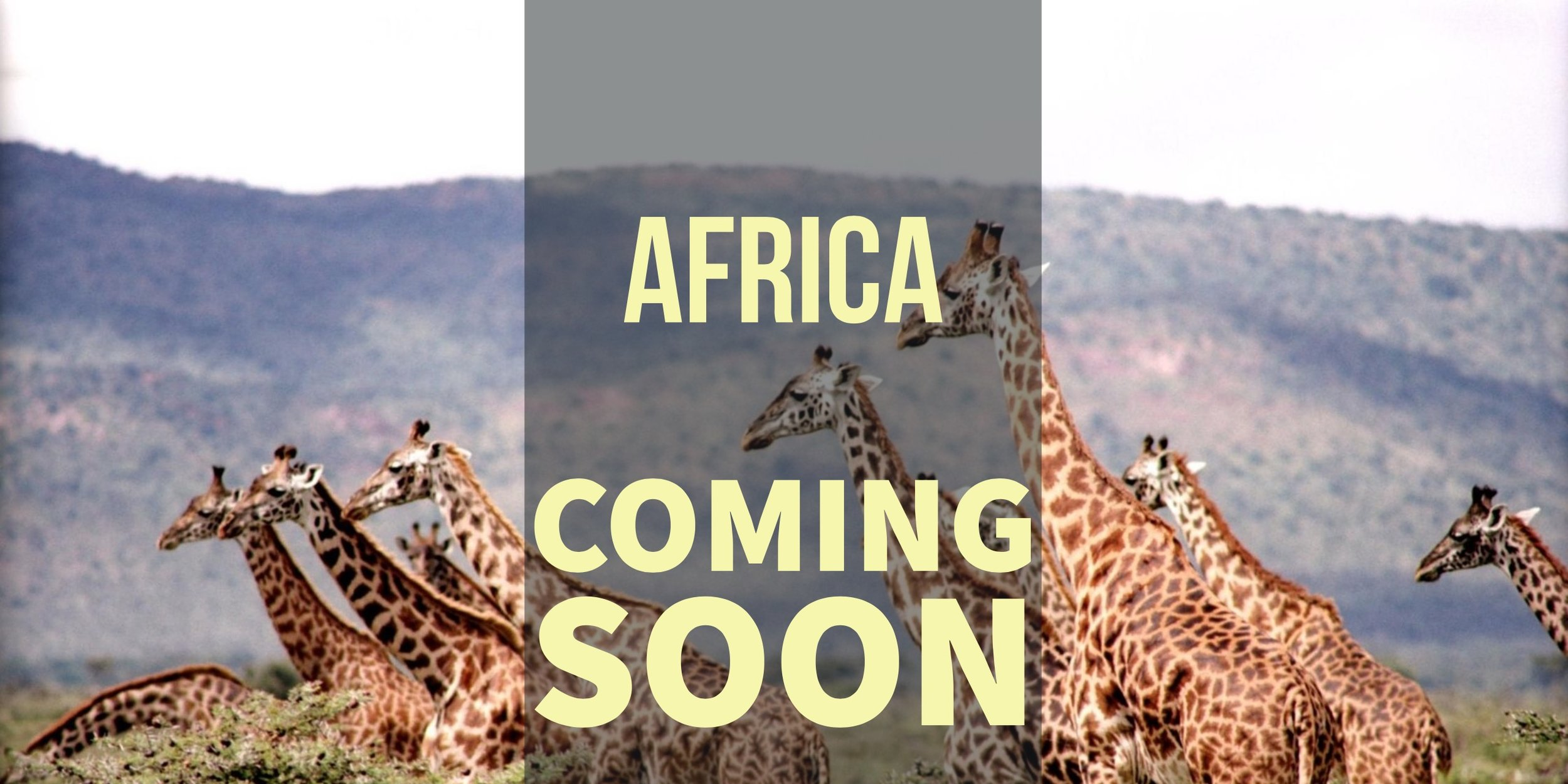 Africa Coming Soon