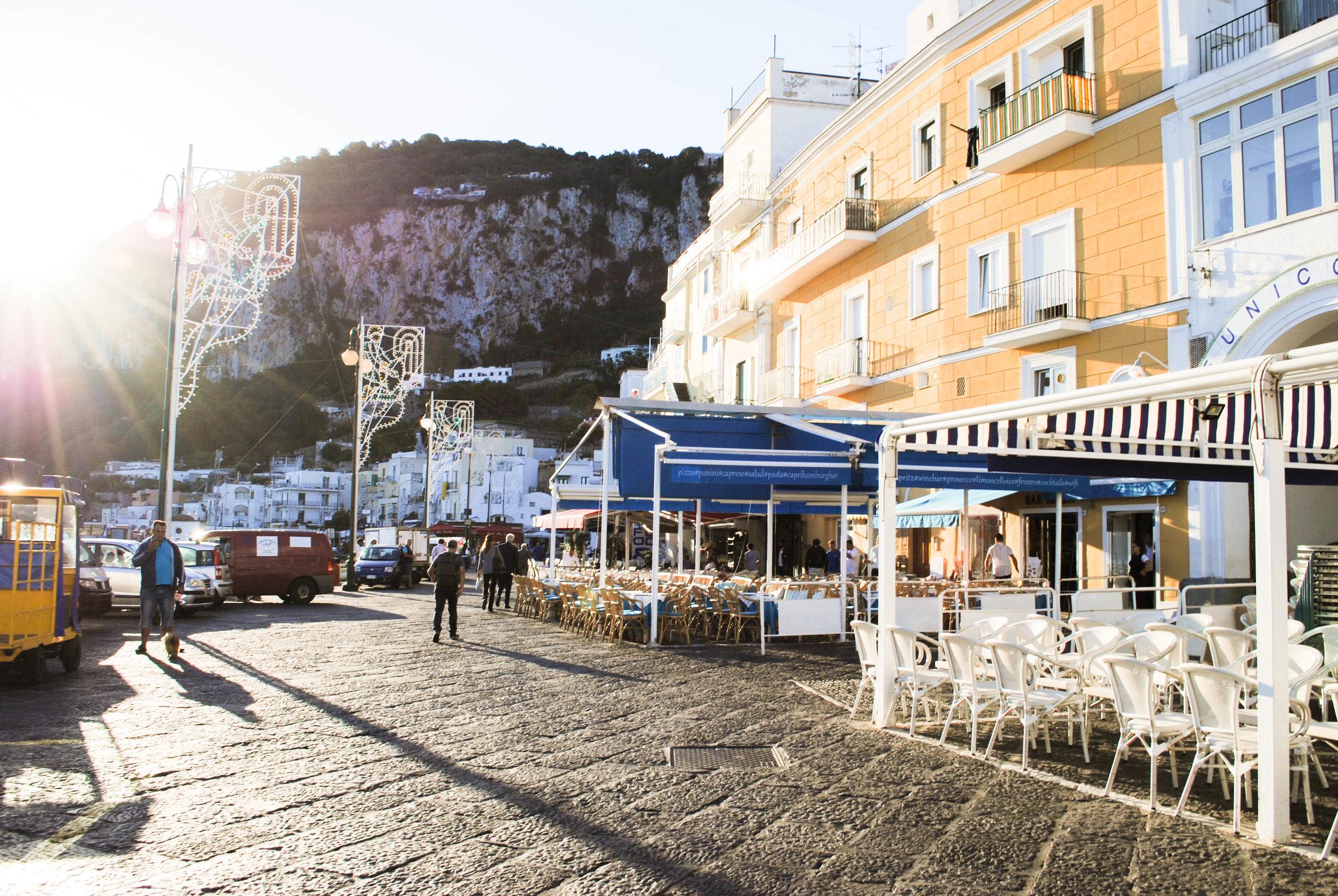 Marina Grande in Capri, Italy