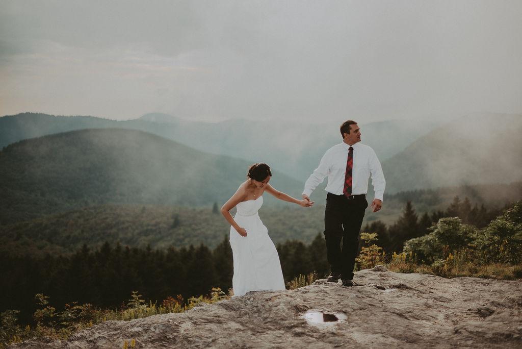 Asheville, NC elopement