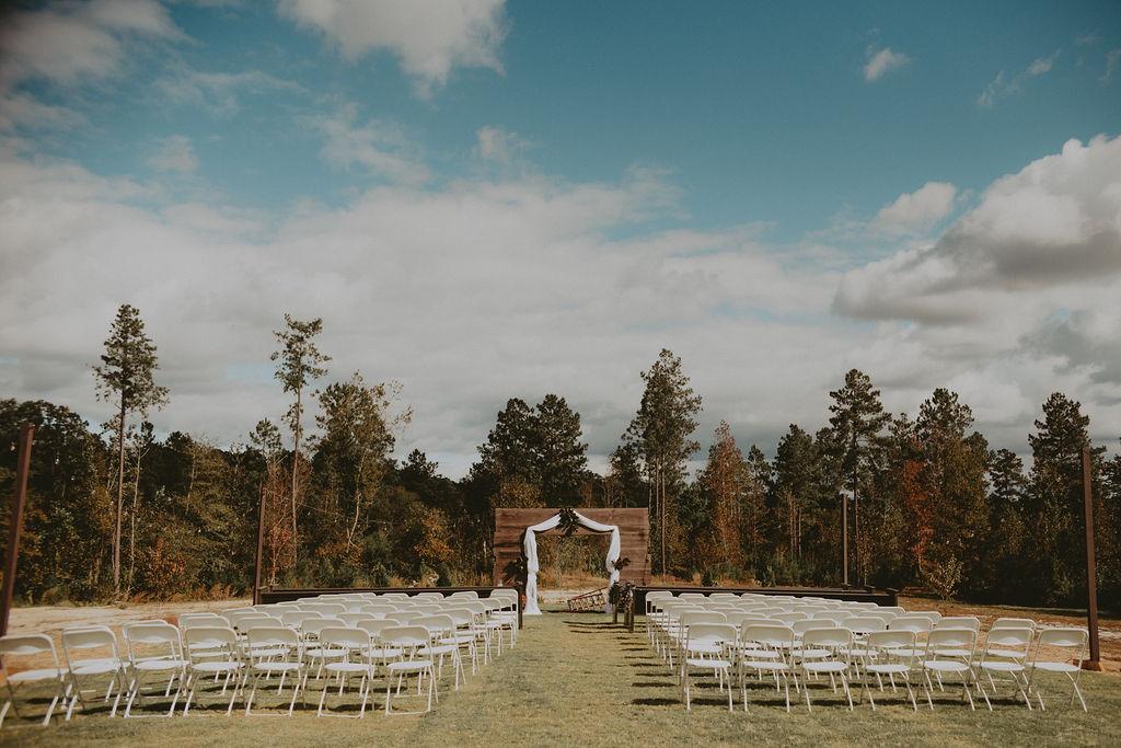 backyard wedding venue. The Barn on Blue Jay Wedding Venue