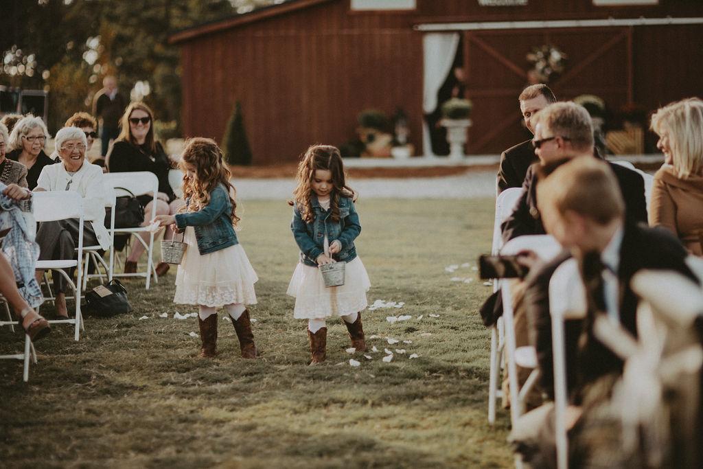 southern barn wedding 1