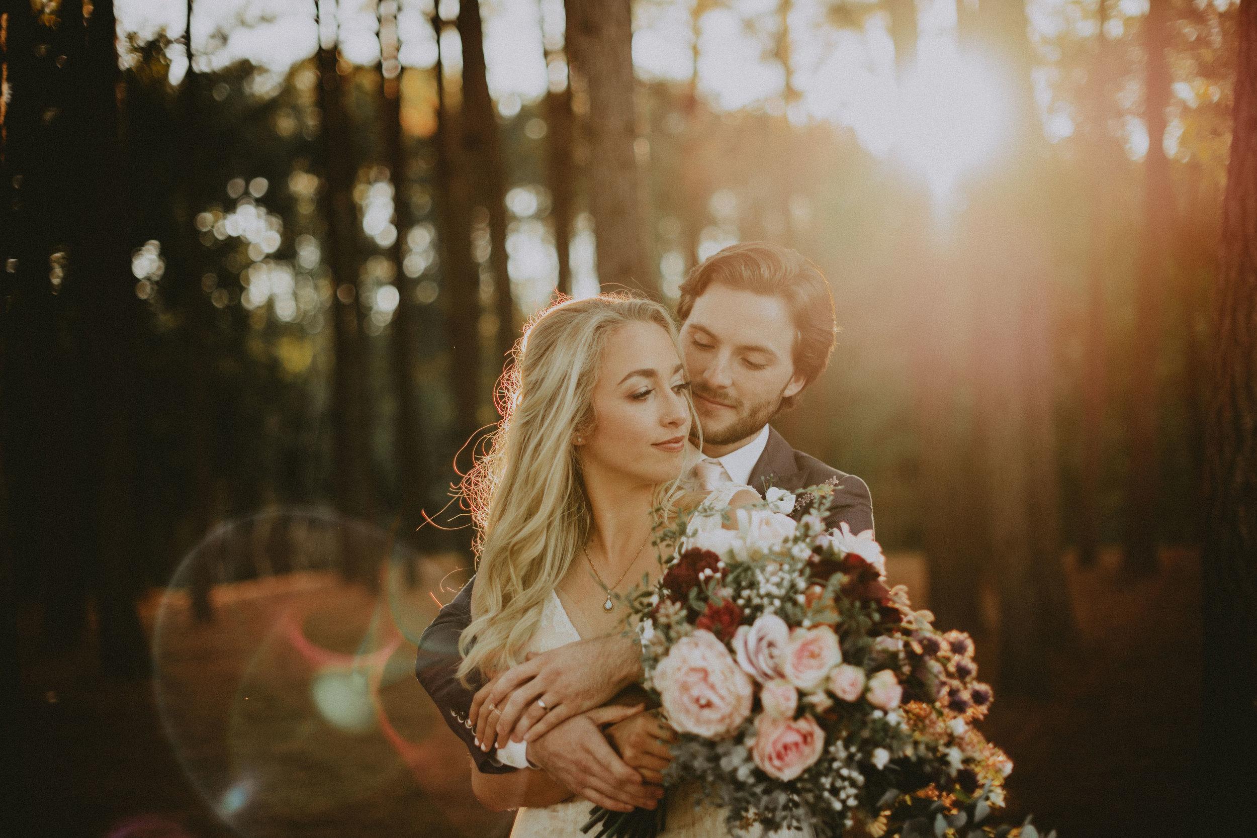 Malibu weddings bride + Groom