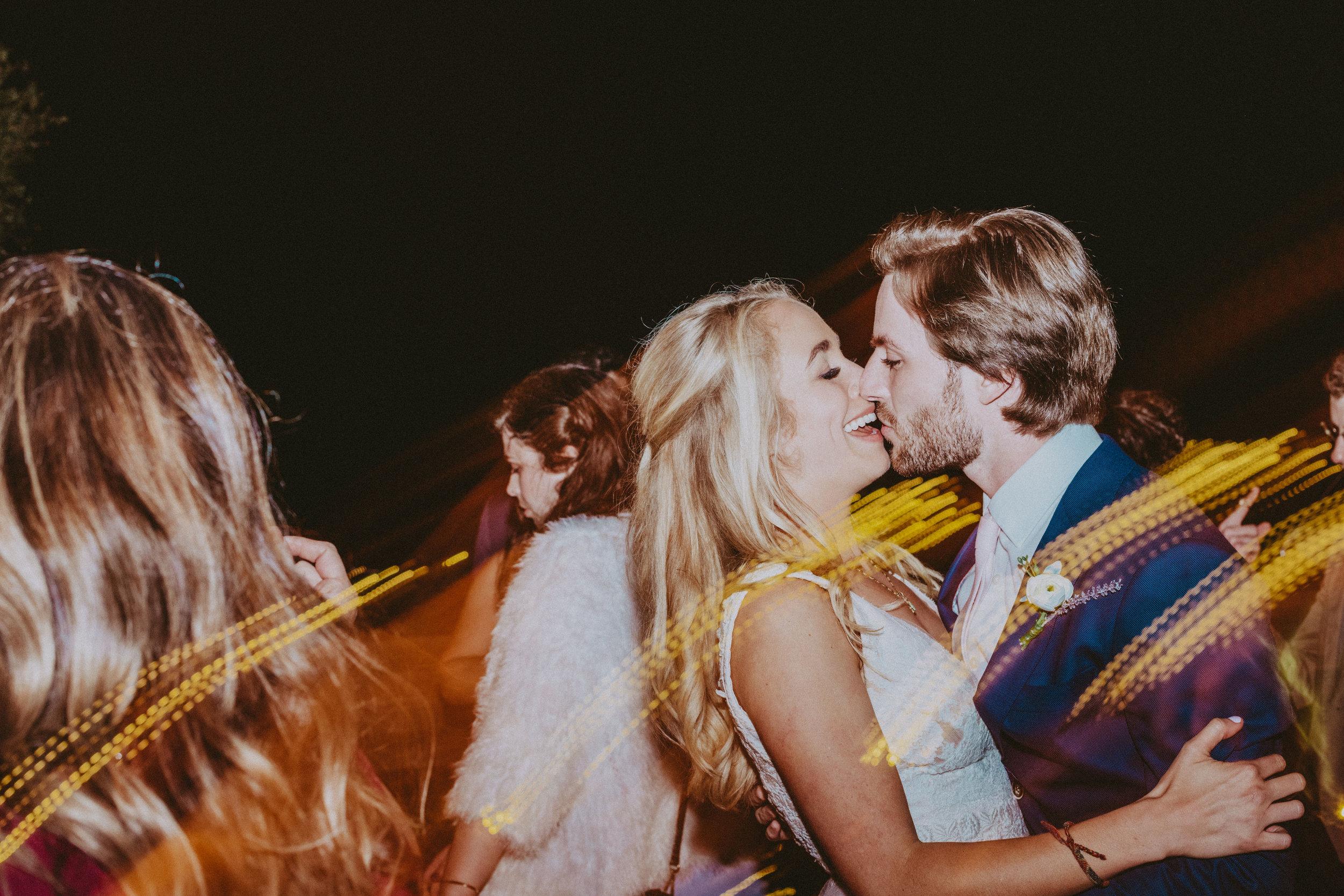 bride & groom wedding reception