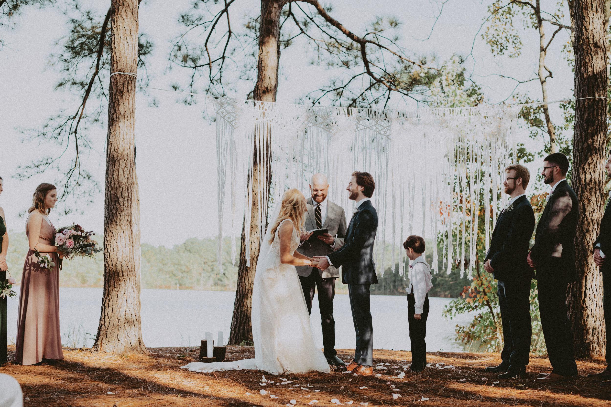 The lake house at bulow wedding