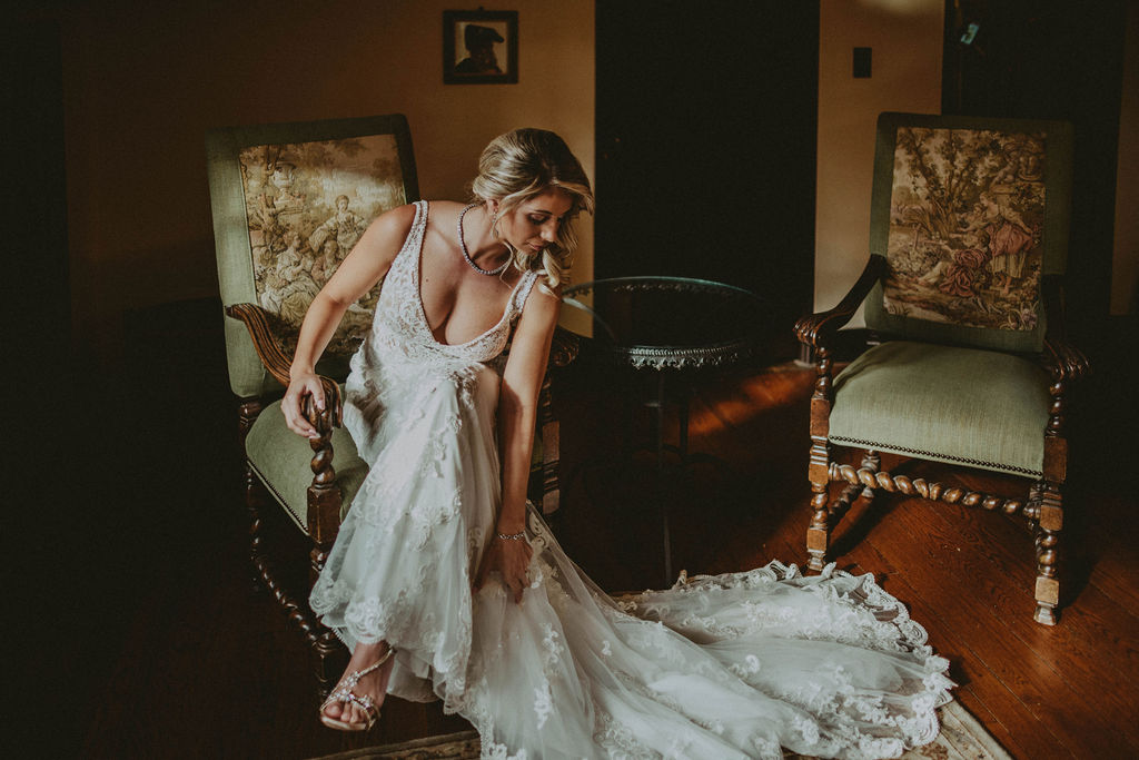 California Wedding Getting Ready photos at Casa Feliz