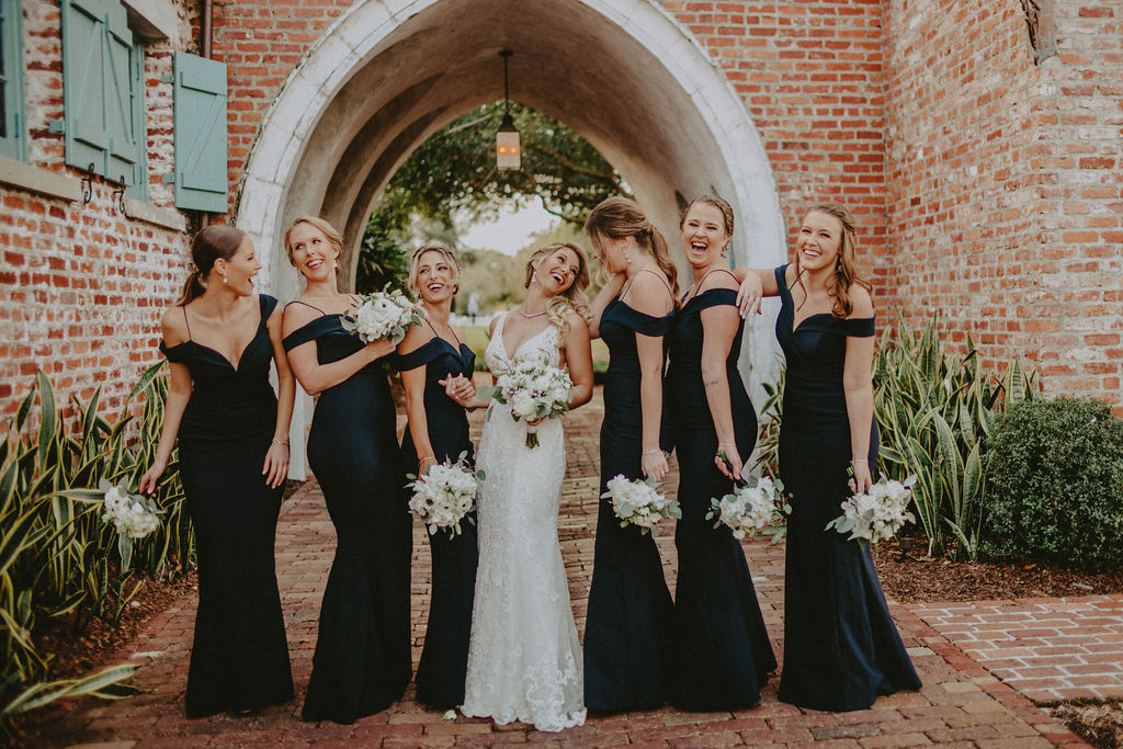 Reagan Aleea wedding party photos