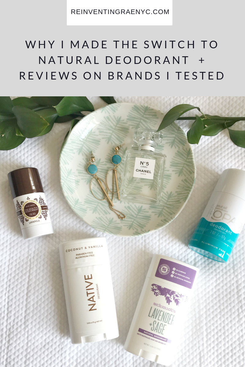 Natural Deodorant blog post