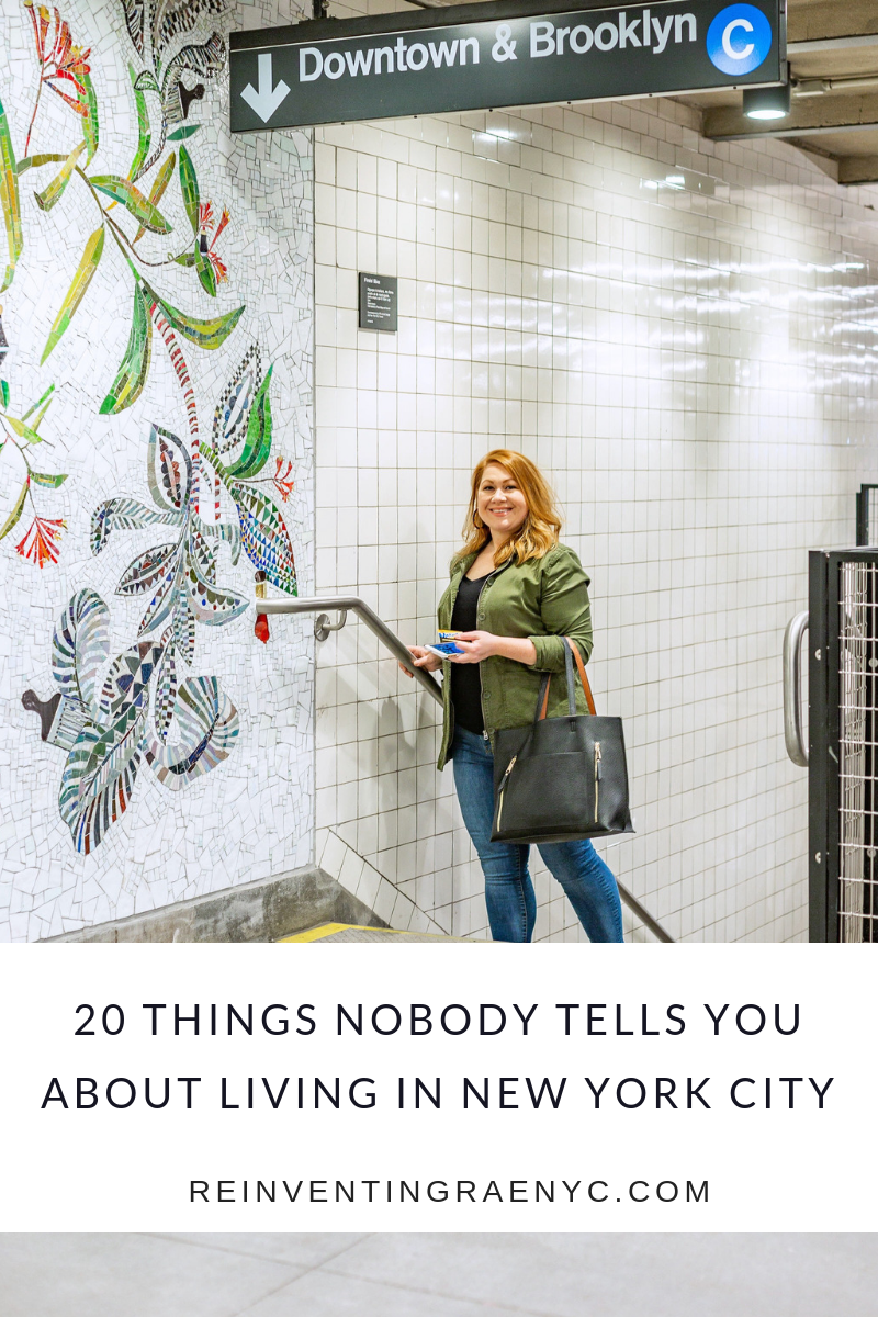 20 things about living in NYC