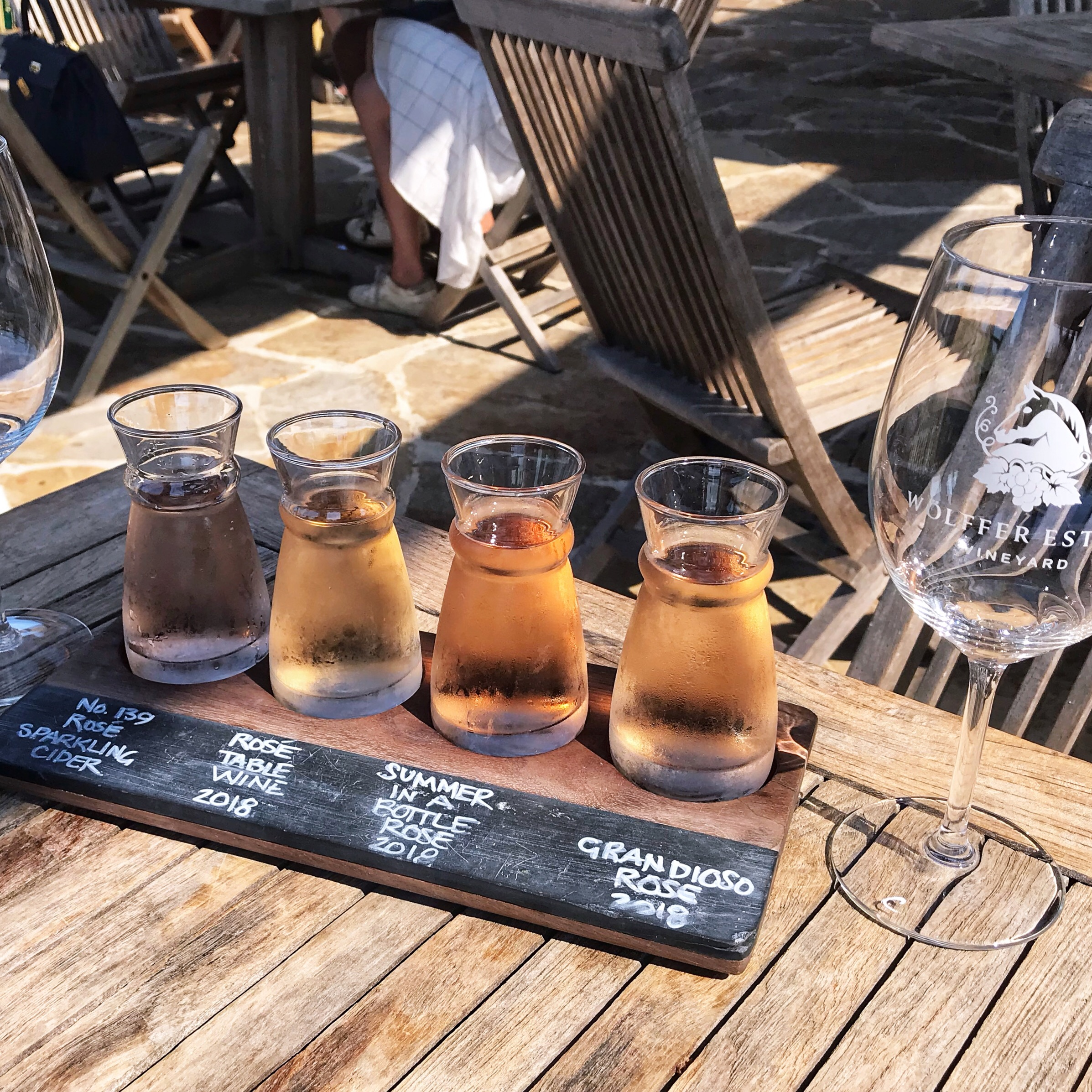 Wolffer Winery Rosé Flight