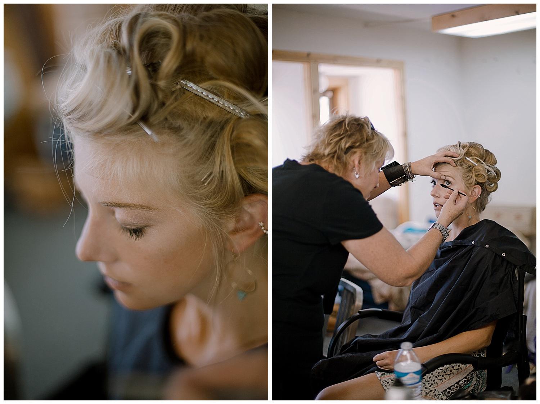The Bride Getting Ready, Colorado Wedding Photographer, adventurous colorado wedding photographer, marble colorado wedding