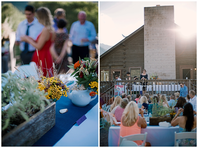 wedding table decor, wedding details, outdoor colorado wedding, adventurous colorado wedding photographer, marble colorado wedding, marble lodge wedding