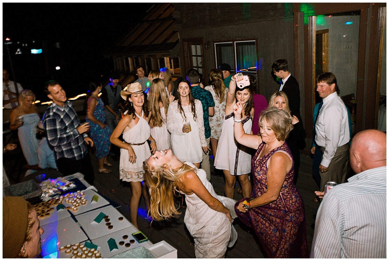 wedding dance floor, outdoor colorado wedding, marble lodge wedding, marble colorado wedding, adventurous colorado wedding photographer