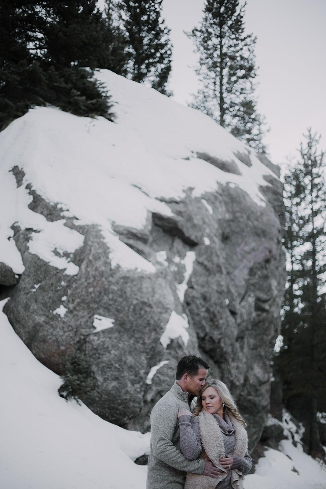 couple posing, colorado engagement session, colorado adventure session, colorado wedding photographer, red cliff wedding photographer, leadville wedding photographer