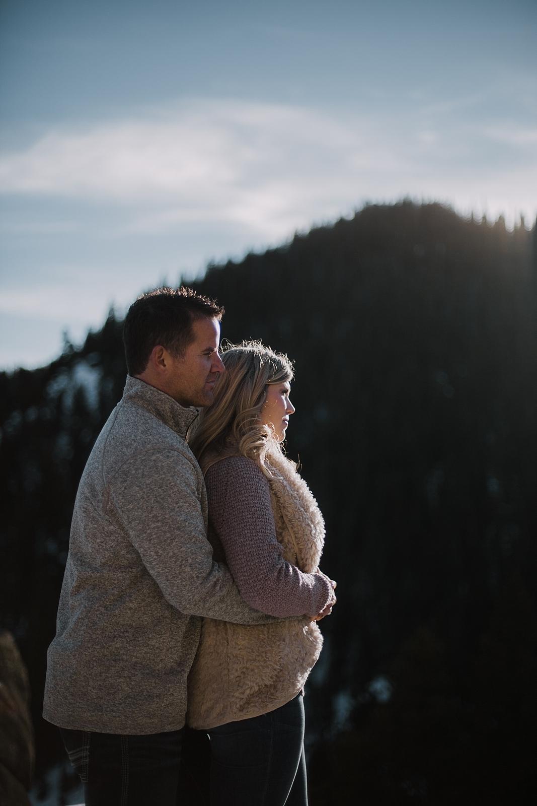couple posing, adventurous colorado engagement session, adventurous wedding photographer, colorado wedding photographer, red cliff wedding photographer, leadville wedding photographer