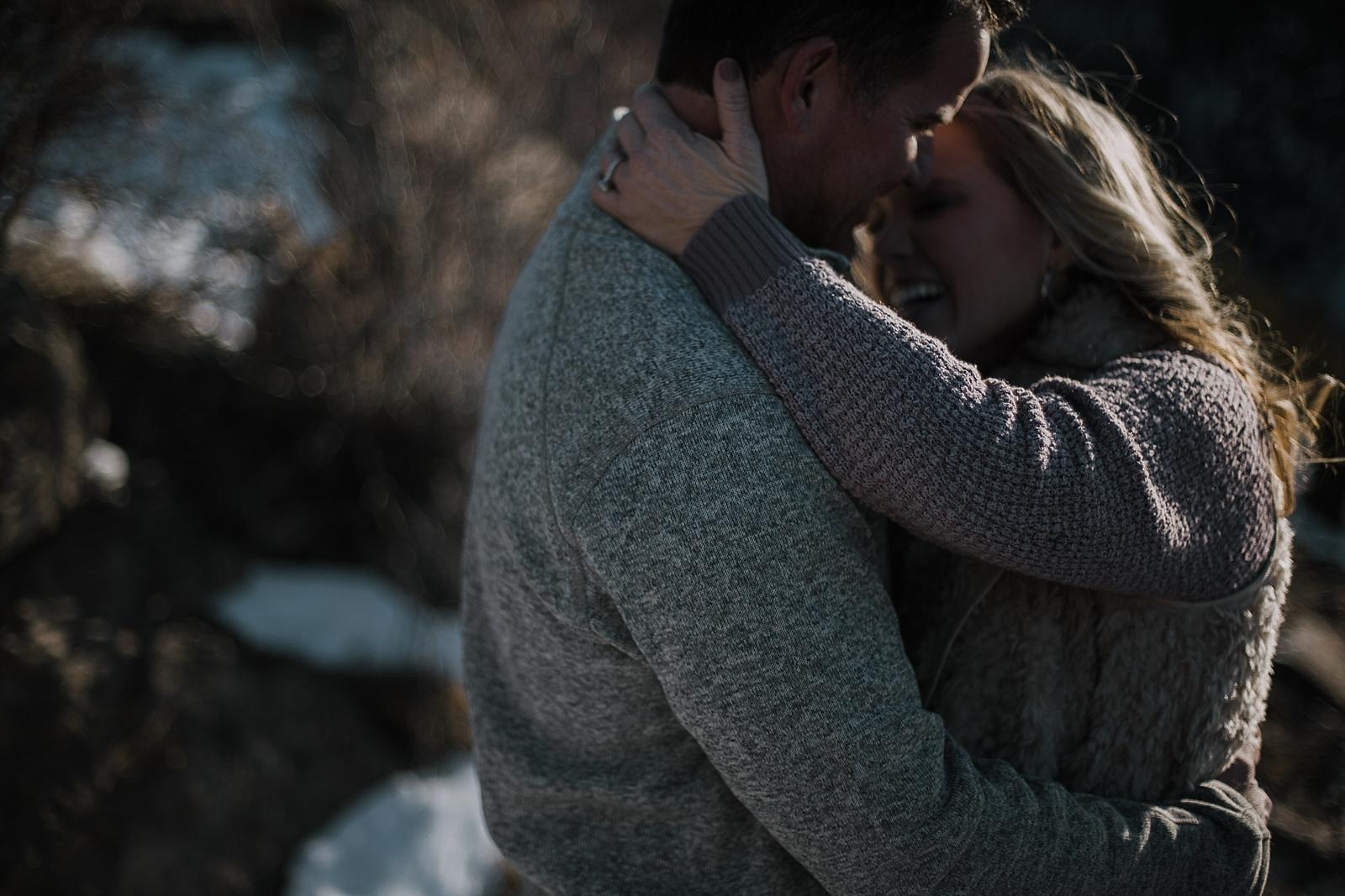 couple posing, adventurous colorado engagements, hiking engagements, colorado wedding photographer, leadville wedding photographer, red cliff wedding photographer