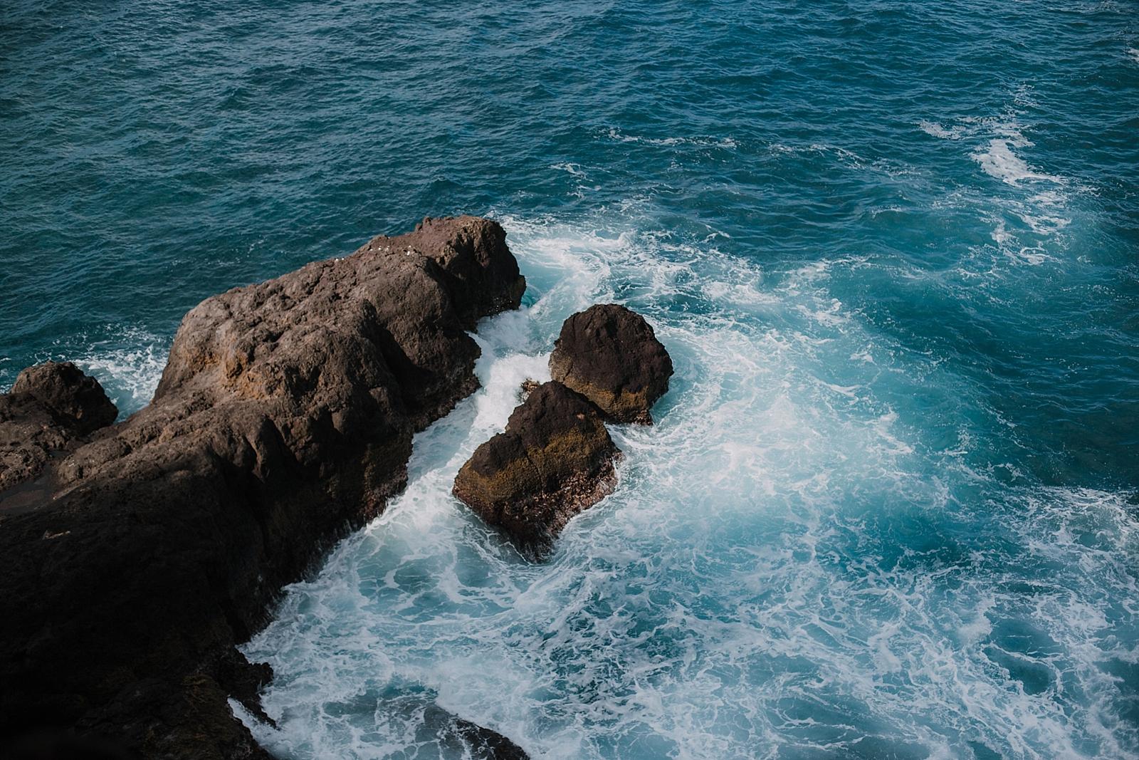 water on cliffside, lahaina wedding photographer, maui wedding photographer, hawaii wedding photographer, maui adventure photographer