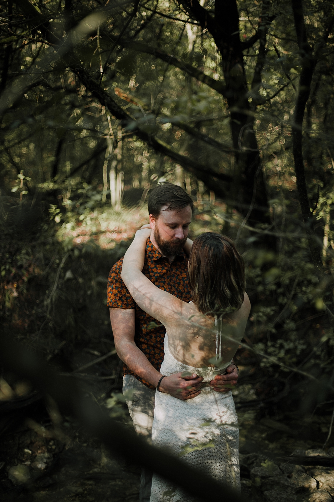 couple in the woods, hiking engagements, austin texas wedding photographer, dripping springs texas wedding photographer, paris france wedding photographer