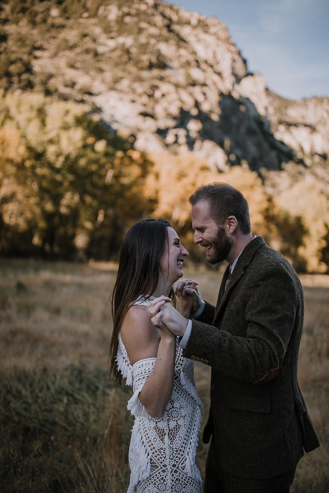 couple kissing, couple hiking, norway elopement, post elopement celebration, wedding in the woods, buena vista elopement, buena vista wedding, nathrop colorado wedding, adventurous elopement