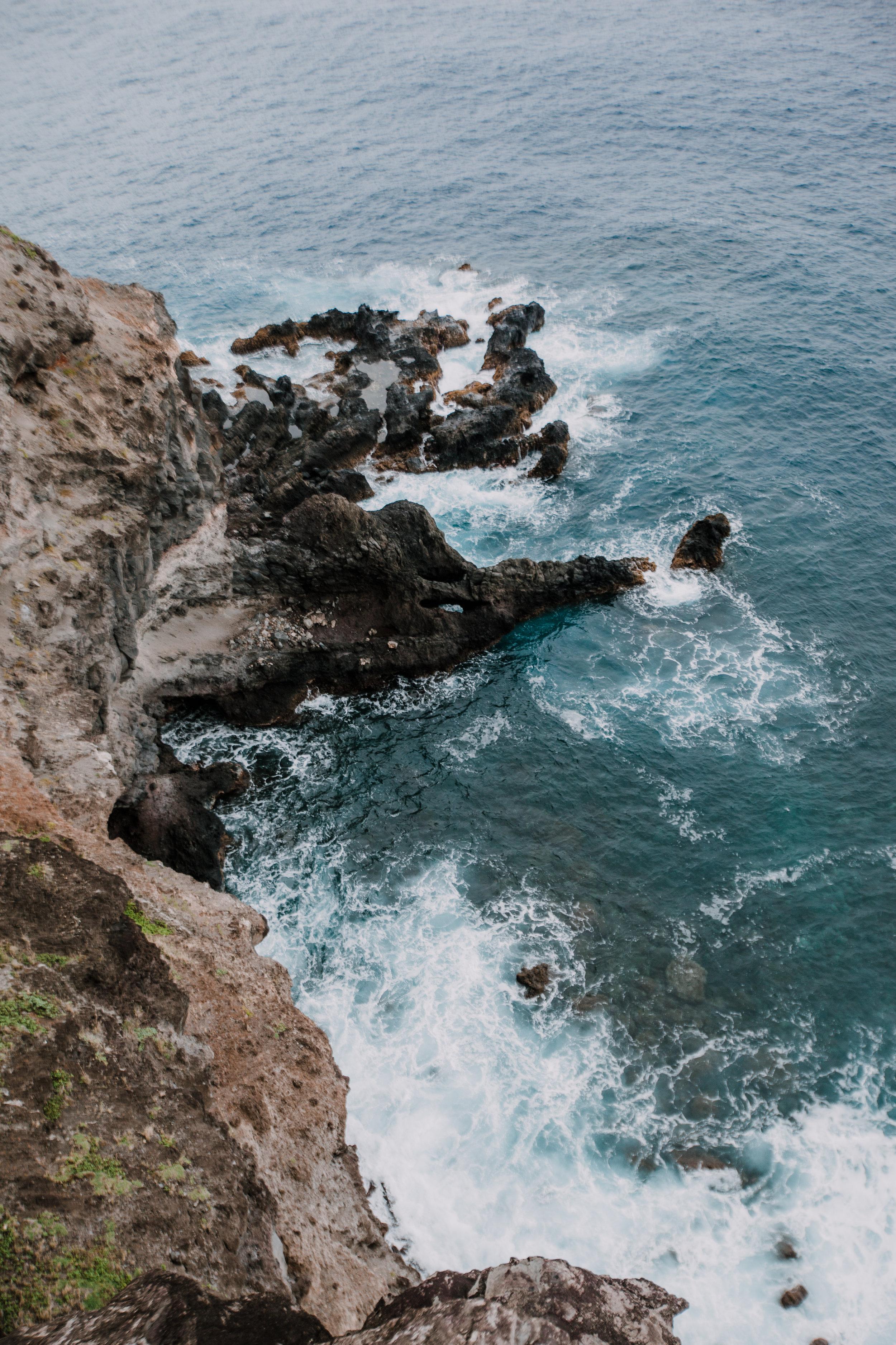 ocean cliff, hana dropoff, haleakala national park, hawaii wedding photographer, hawaii elopement photographer, maui wedding, maui engagements, maui elopement