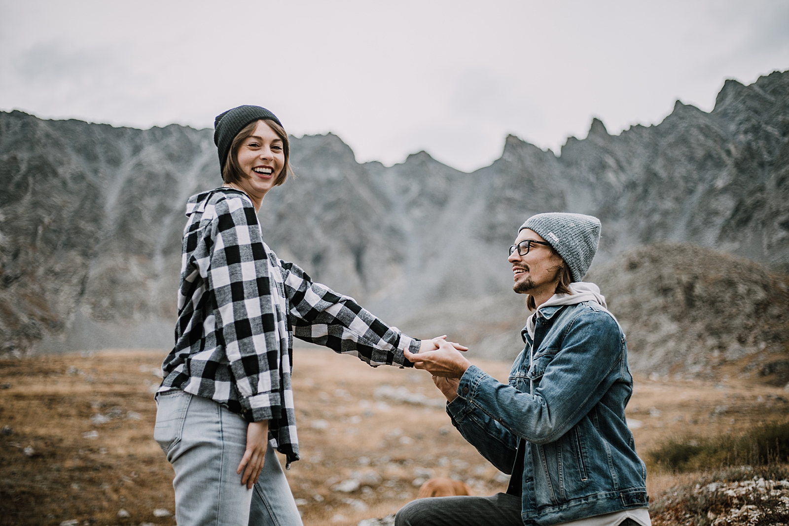 she said yes, colorado surprise proposal, hike mayflower gulch, mayflower gulch proposal, mayflower gulch elopement, mayflower gulch wedding, mayflower gulch engagments, leadville elopement