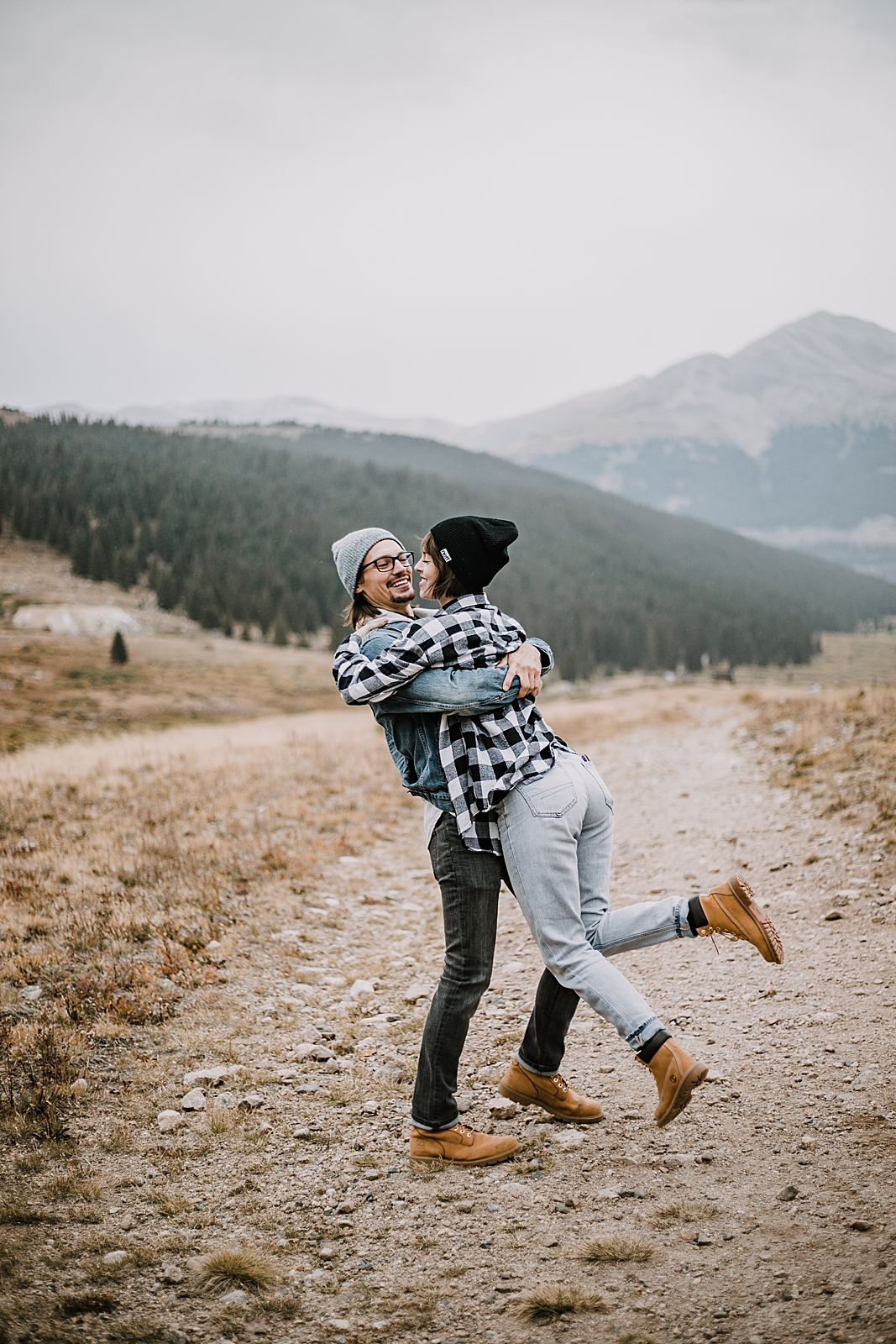 couple dancing, colorado surprise proposal, hike mayflower gulch, mayflower gulch proposal, mayflower gulch elopement, mayflower gulch wedding, colorado 14er, colorado fourteener, leadville elopement