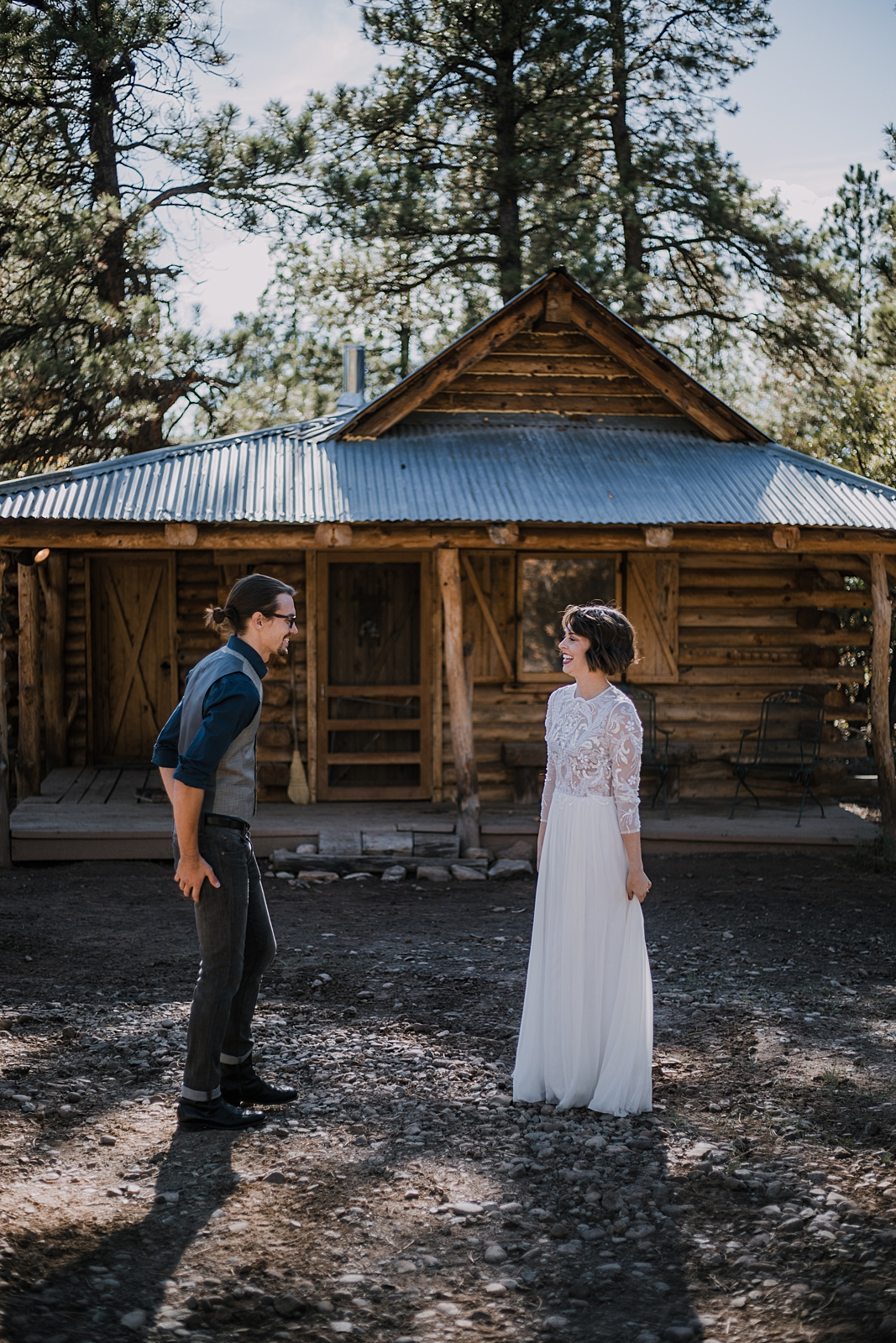 first dance, lost canyon ranch elopement, lost canyon ranch wedding, mancos colorado wedding photographer, fall wedding in southern colorado