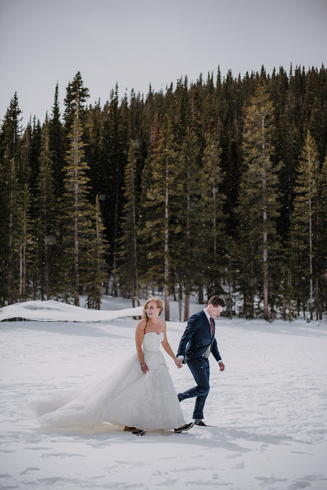 hiking at bear lake in rocky mountain national park, rocky mountain national park elopement, self solemnize in rocky mountain national park, estes park elopement, bear lake elopement