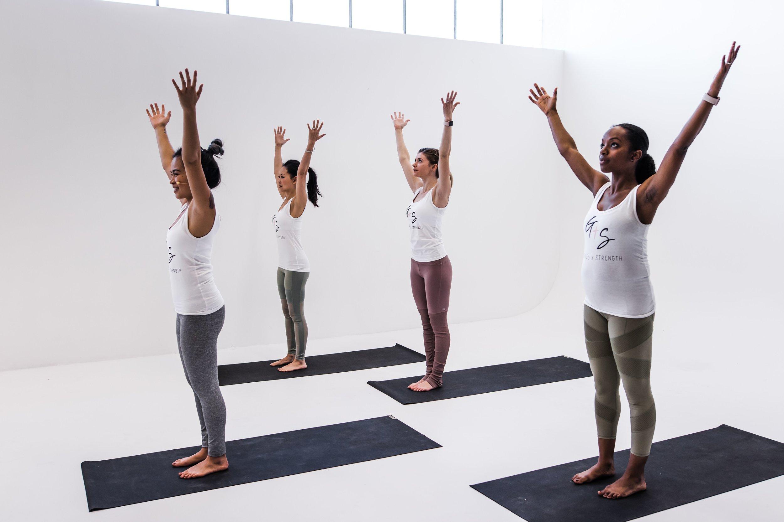 grace x strength christian yoga