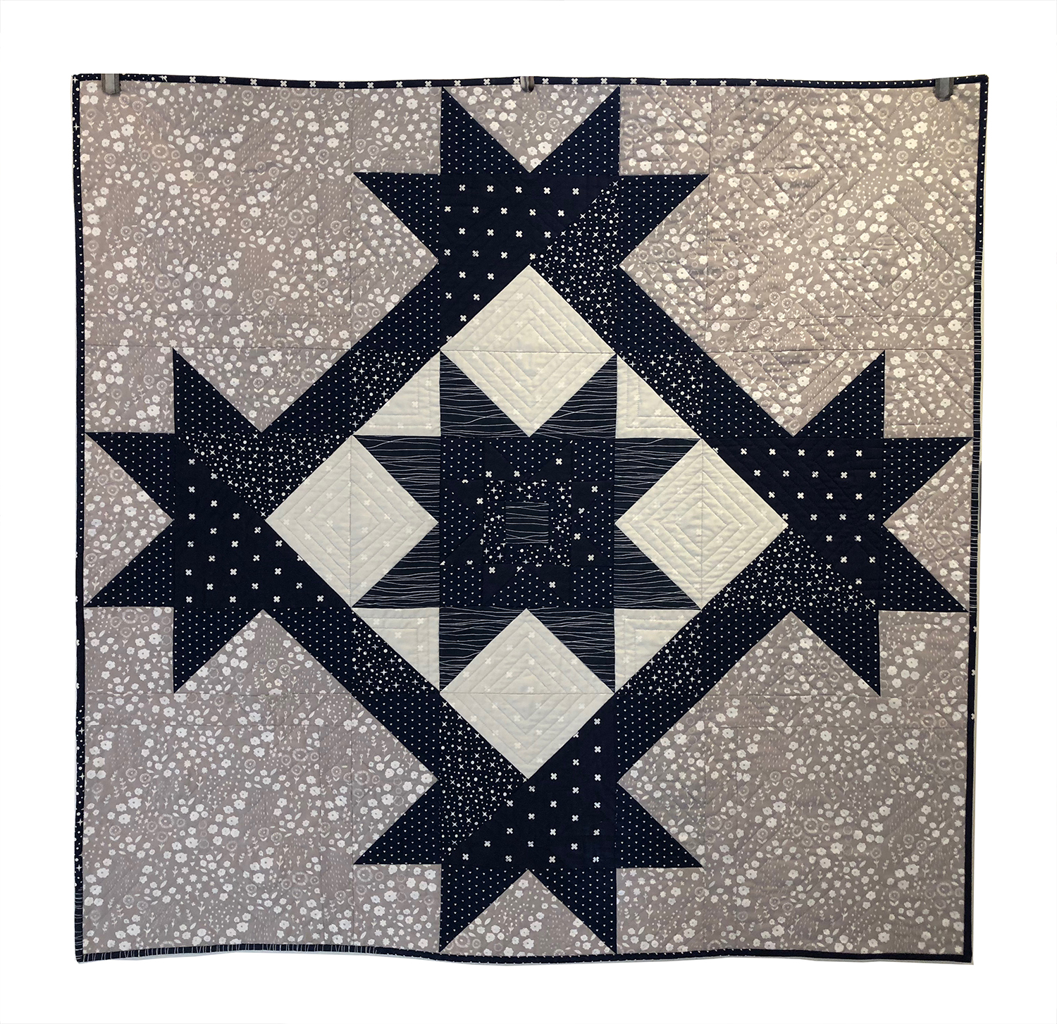 Double Star Quilt 2018