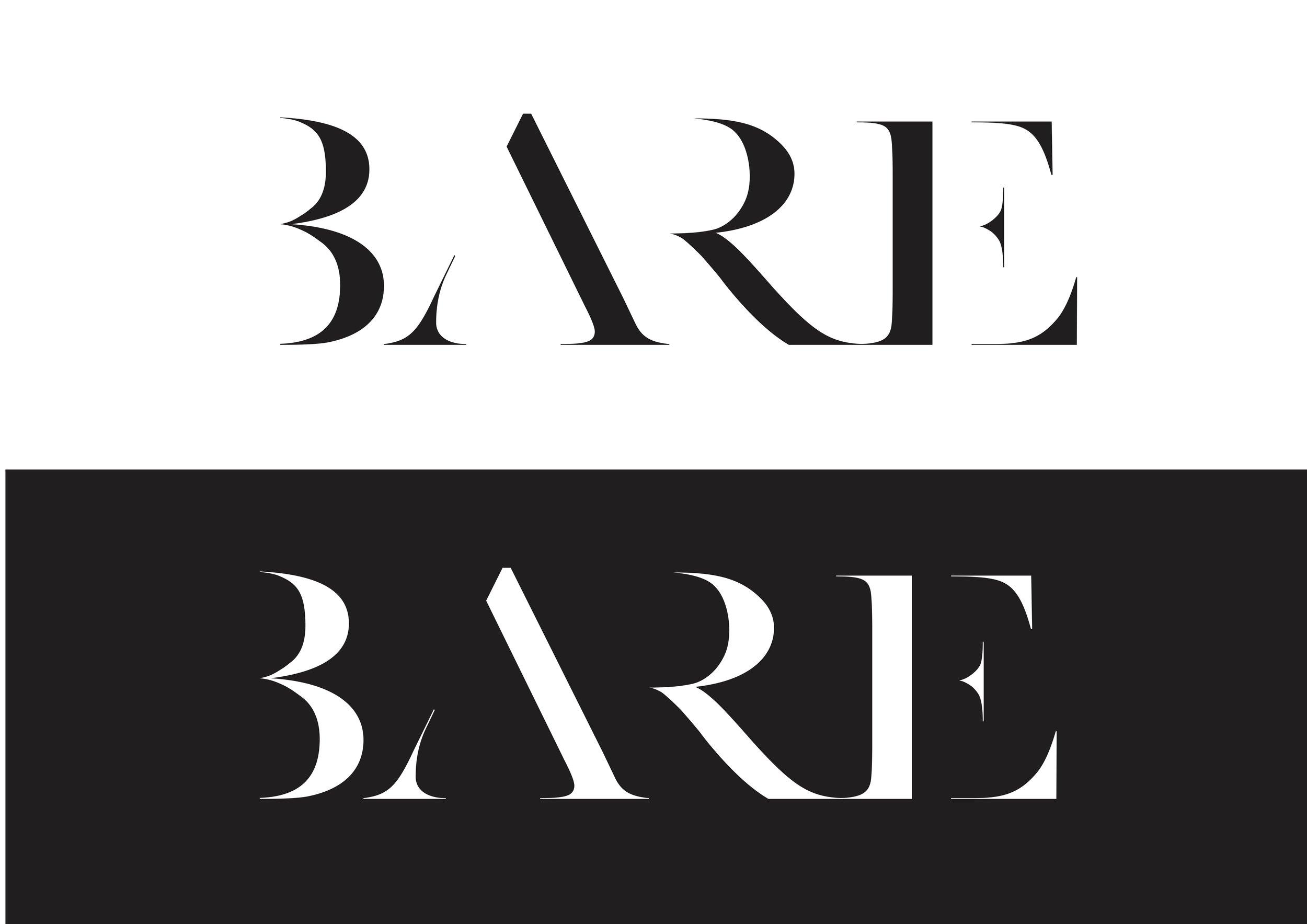 Bare branding 170527 logos Black and white .jpg