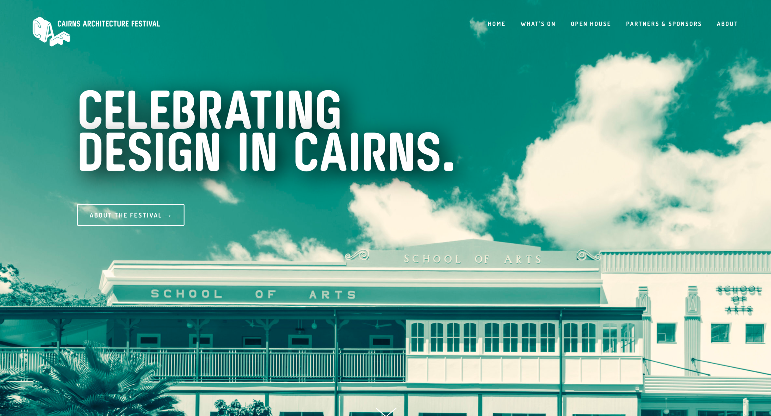 Cairns Architecture festival website 1