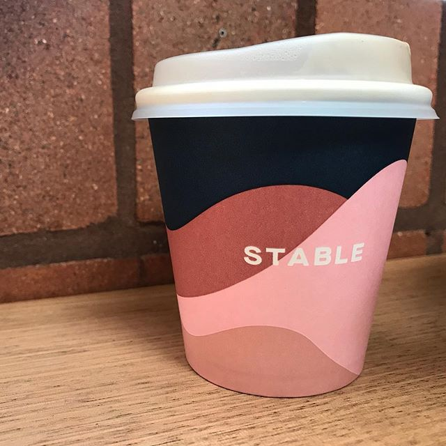 Packaging perfection @stable_coffee_kitchen 🙌😍 #coffee #cornerstone @cornerstone_stores #goldcoast #packaging #design