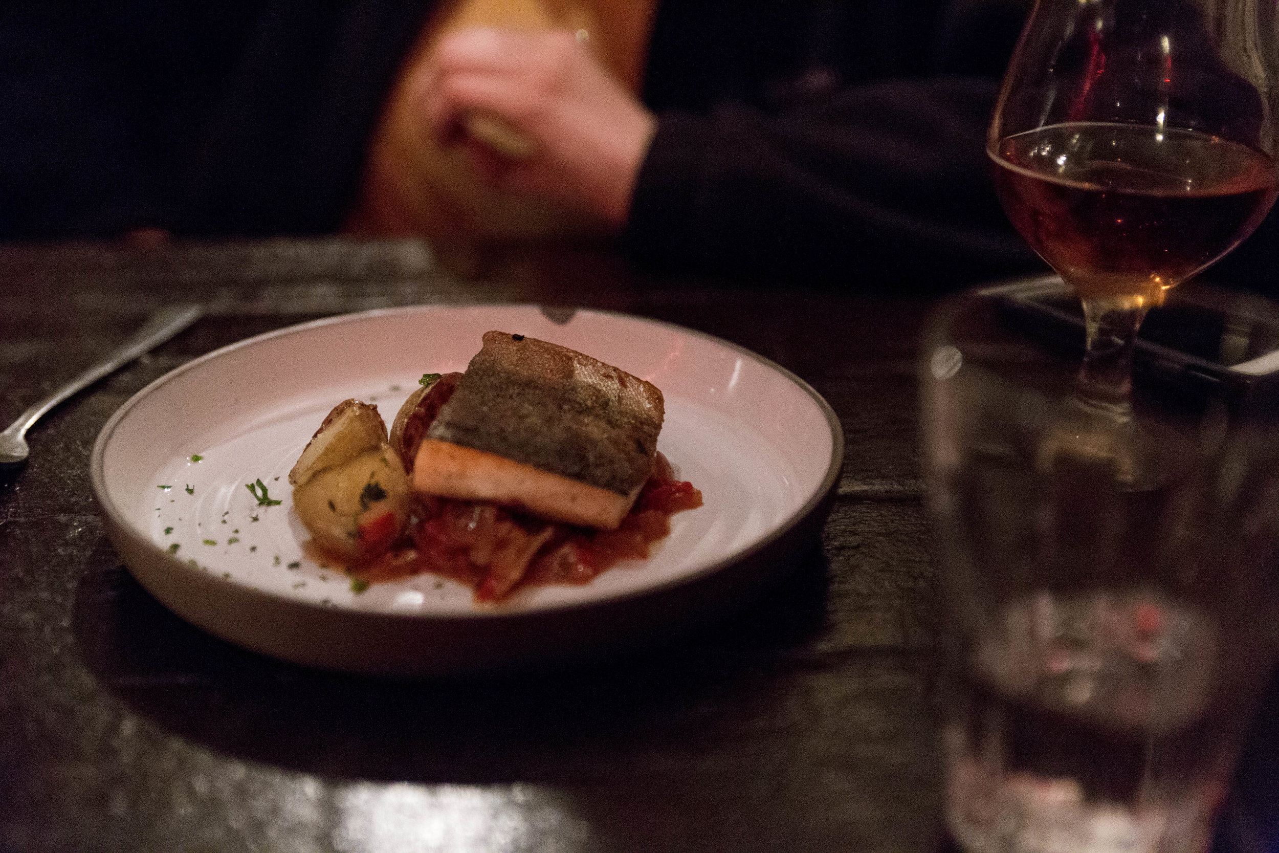 Icelandic Sea-Trout With Peppers-Salsa