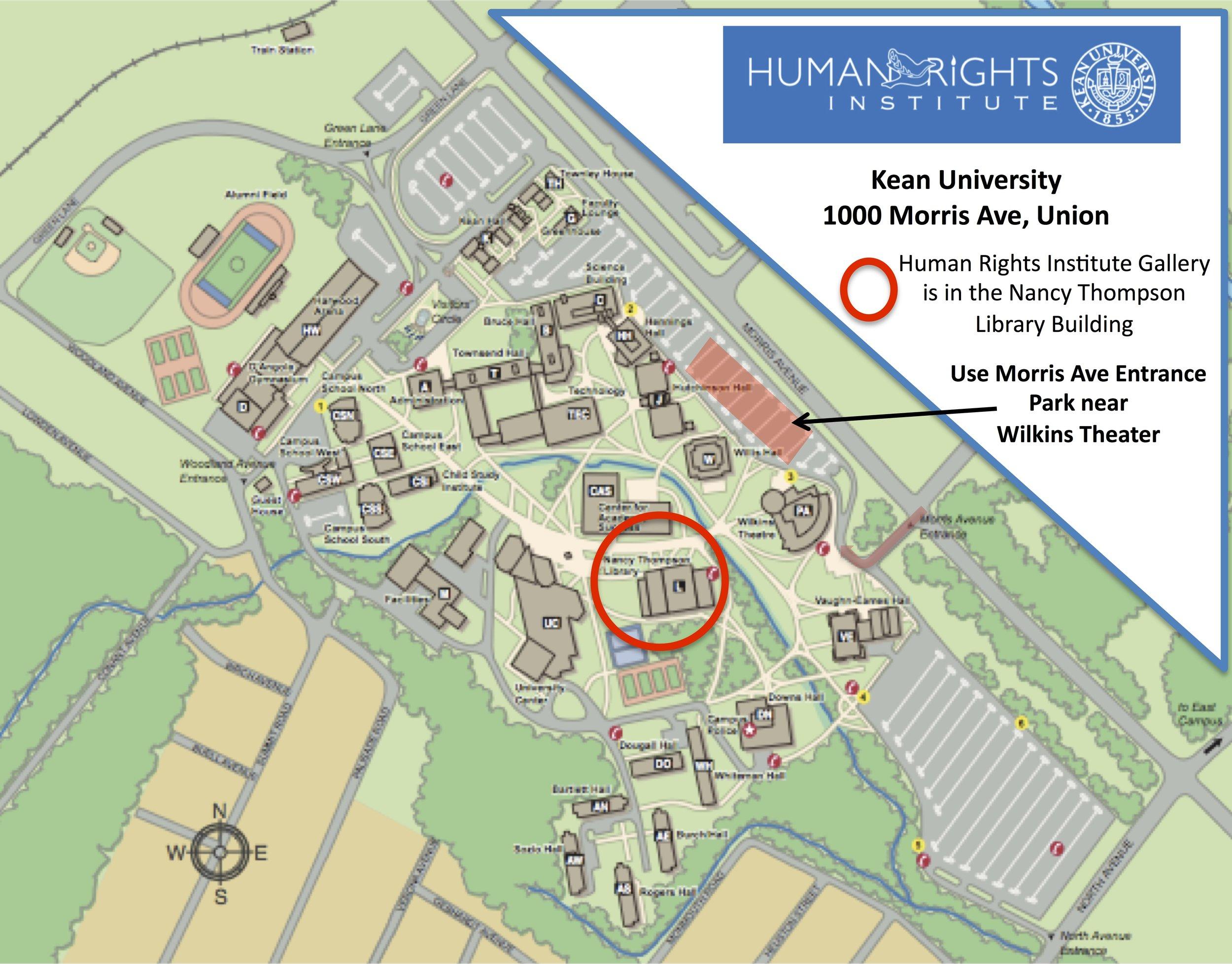 Kean HRI Campus & Parking Map 2018.jpg