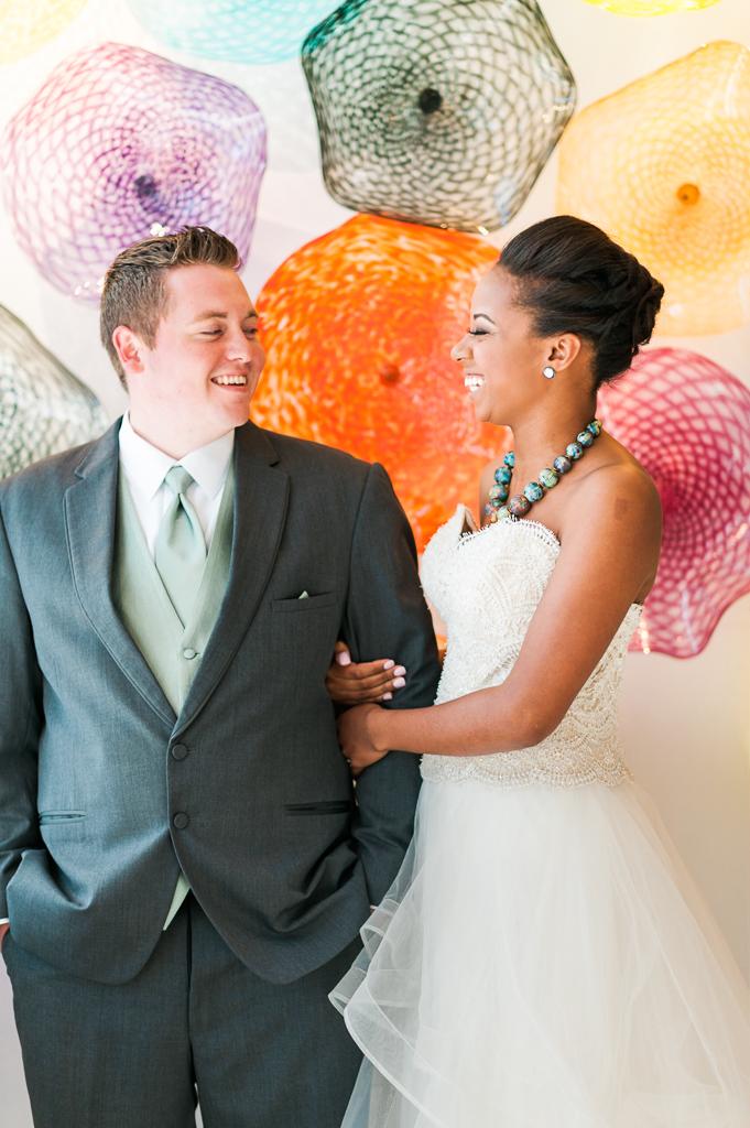 Third Degree Glass Factory Wedding