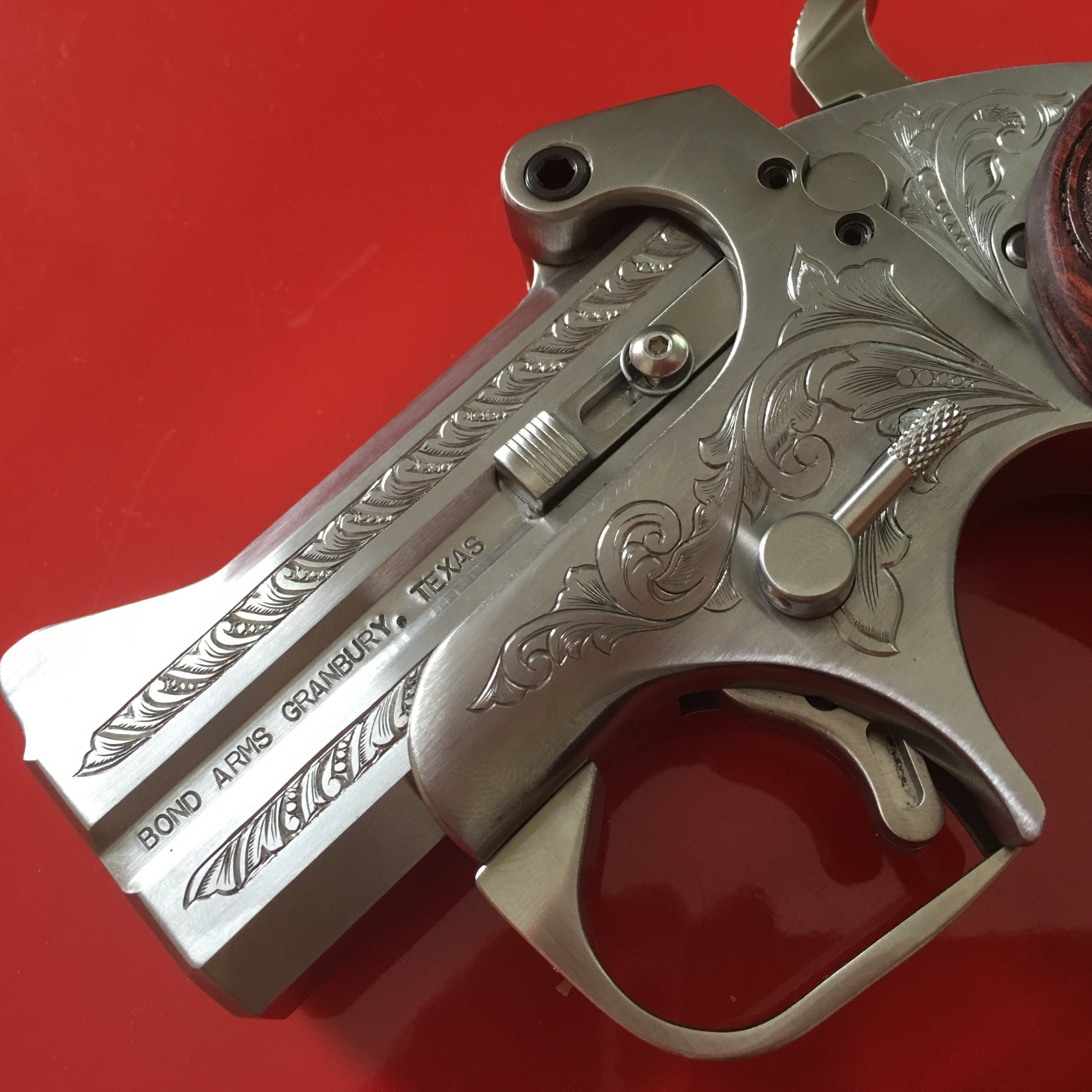 Hand Engraved Derringer