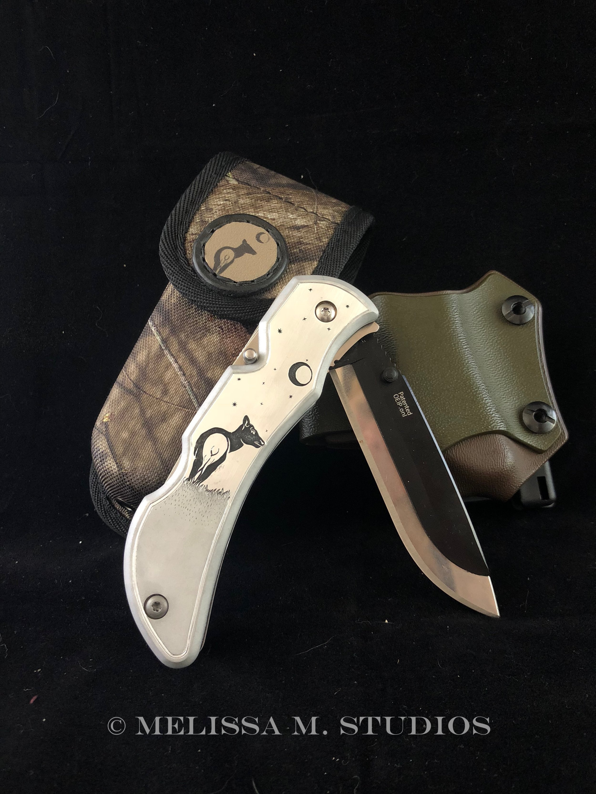 Custom Hunting Knife