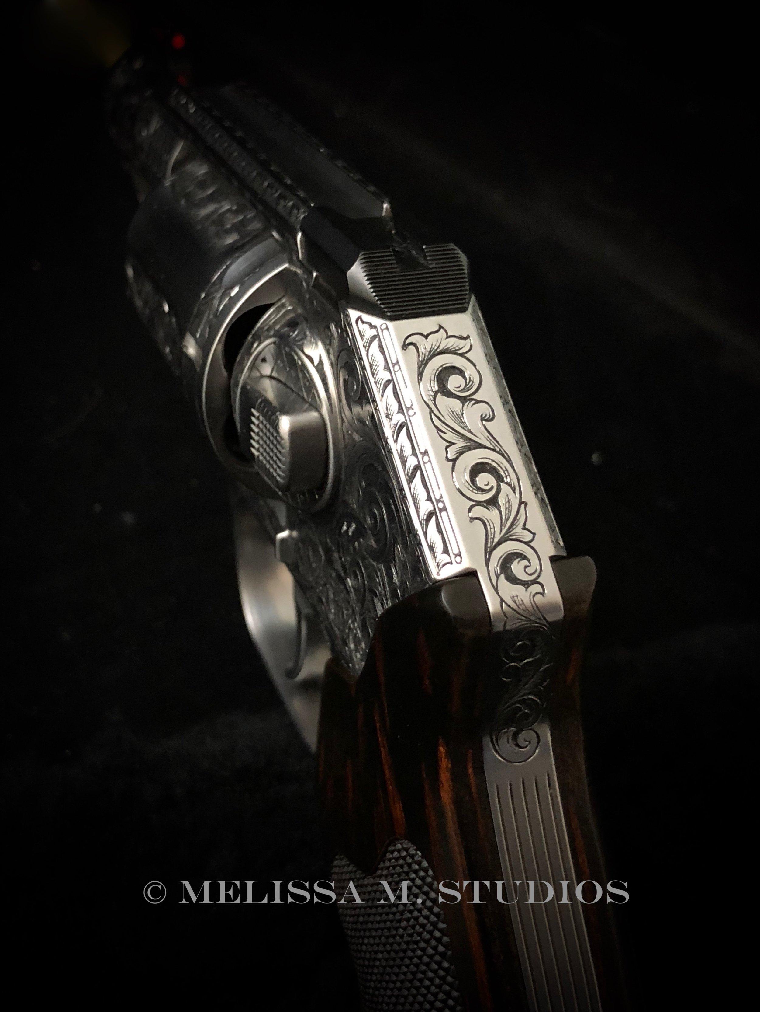 Kimber K6s Hammerless Revolver Engraving