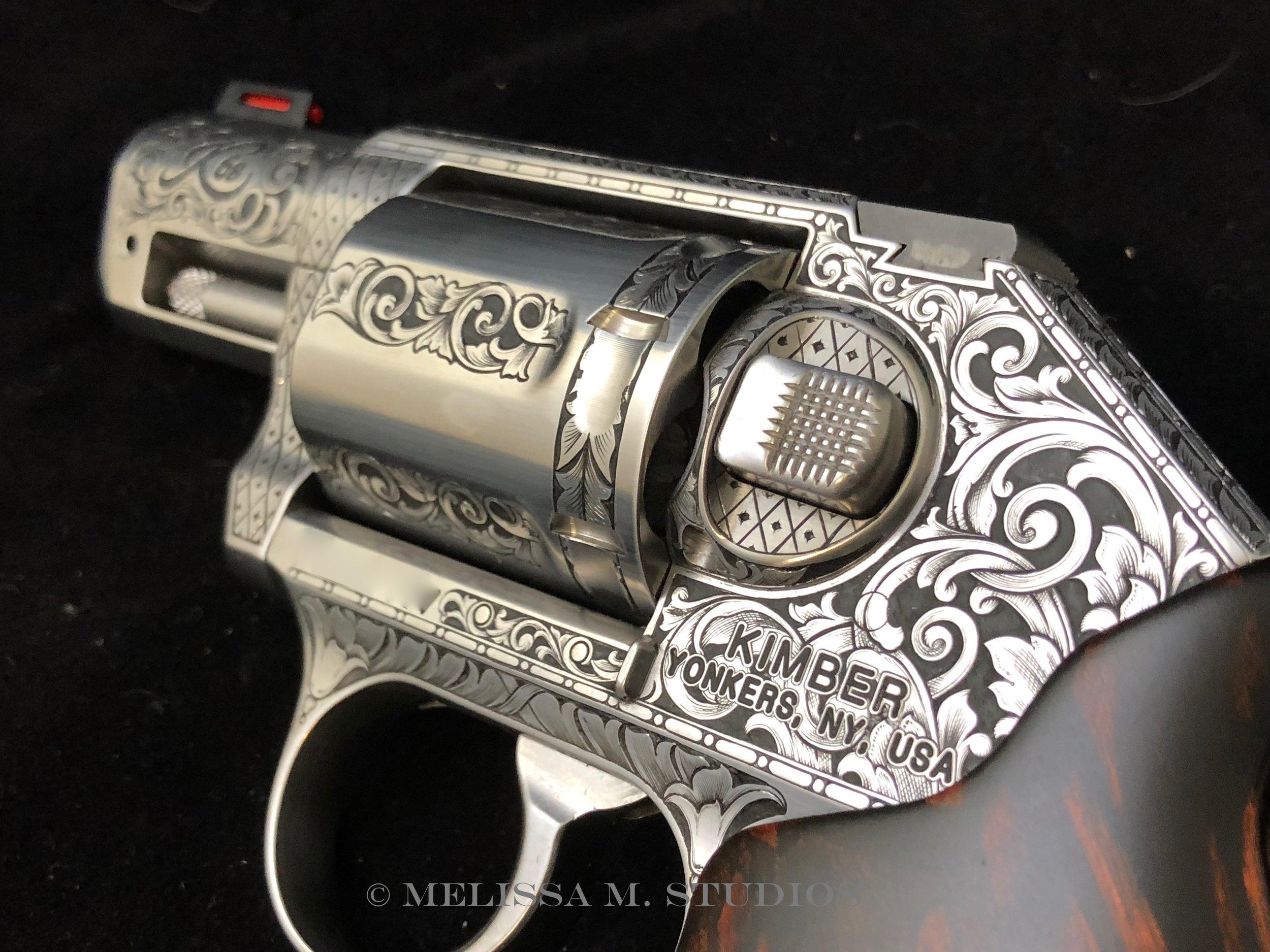 Western Engraved Revolver - Kimber K6s
