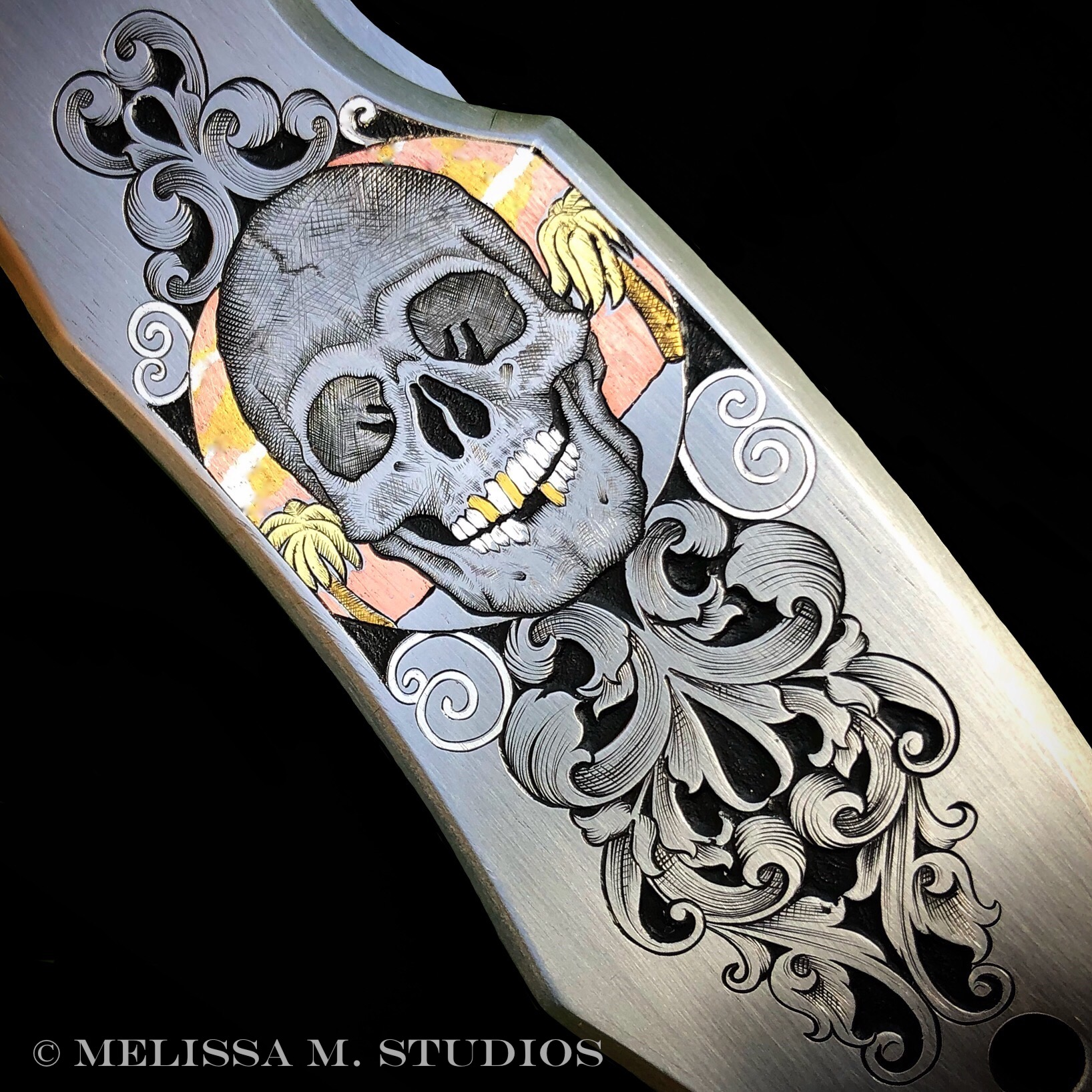 Engraved Pocket Knife | Jeff Parke Design